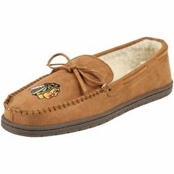 Forever Collectibles NHL Chicago Blackhawks Moccasins Slippe