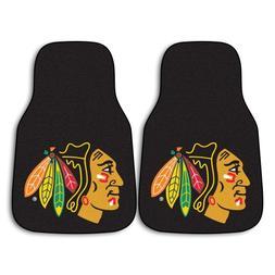 FANMATS NHL Chicago Blackhawks Nylon Face Carpet Car Mat