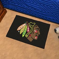 NHL Chicago Blackhawks 20 x 30 Starter Mat