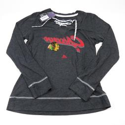 NHL Chicago Blackhawks Womens Pencil Whip Skate Lace Large