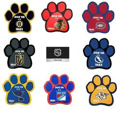 NHL PAW Car Magnets for You and Your Dog!! Multiple Teams -