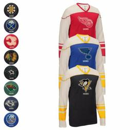 "NHL CCM Throwback ""Better Days"" Retro Applique Long Sleeve V"
