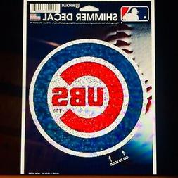 NICE MLB Chicago Cubs World Series Champs Sticker Decal Wind