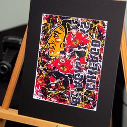 Patrick Kane #88 Duncan Keith #2 - Chicago Blackhawks - Cust