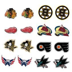 post stud earring charm NHL PICK YOUR TEAM