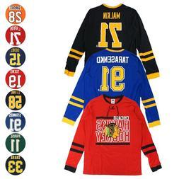 "NHL ""Shootout"" Mass Hockey Long Sleeve Player Jersey T-Shirt"