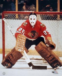 TONY ESPOSITO Chicago Blackhawks NHL Hockey c.1971 Premium P