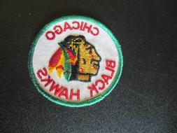 "Vintage 1970's Chicago Blackhawks Logo Emblem  Patch 3"""
